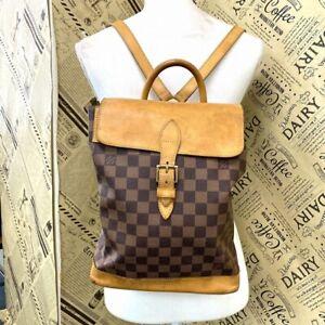 Louis Vuitton Damier Rucks Backpack Brown Arlkan #DX57-866