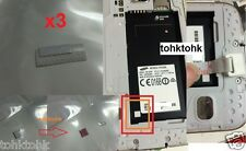 X3 Square Water Liquid Damage Indicator Sticker Samsung Galaxy S5 G900