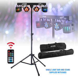 Party Bar Light PAR Derby All in One Disco Stage LED Lighting with Stand & Bags