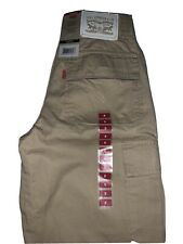 Boys Levi Cargo Shorts Size 8 Reg ,Khaki, Adjustable Waistband NWT MSRP$40