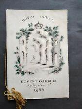 More details for royal opera gala  coronation performance  gloriana 1953