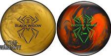14lb Hammer Black Widow GOLD Pearl Reactive & Widow Spare Bowling Ball Pair