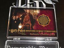 Harry Potter Sorcerers Sorcerer's Stone Argus Filch Costume Card