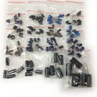50V 16value 140pcs Electrolytic Capacitor Assortment assorted Kit Set