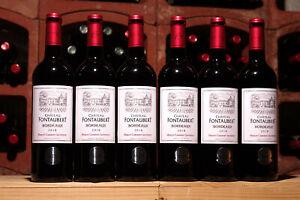 12 Flaschen 2018er Château Fontaubert, Prämierter Rotwein im Concours Paris 2020