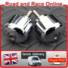 Honda VTR1000F CB1300 GL1800 CB1100SF Bar Ends Pair Chrome Bar End Weights