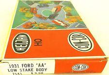 CON-COR 1931 Ford AA BASSO Sake Body Concor Kit di costruzione RICOSTRUITA H0 1:
