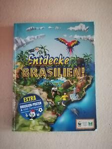 Edeka Entdecke Brasilien Leeralbum! mit vielen Karten