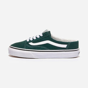Vans Old Skool Mule Sherpa - Green / VN0A3MUS06A / Sneakers Shoes