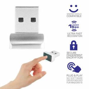 Mini USB Portable Fingerprint Reader - Touch Security For PC Windows 10,8,7 - UK