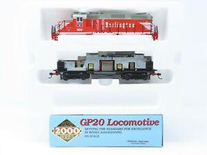 HO Scale Proto 2000 8122 CBQ Burlington GP20 Diesel Loco #900 BAD GEARS