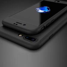 Nuevo iPhone 7 frente y atrás 360 ° PLUS duro caso para cubrir Protector de Pantalla de Vidrio + Delgada