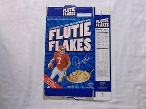 Doug Flutie Flutie Flakes Cereal Box Buffalo Bills 2nd Edition