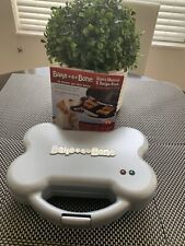 Bake-A-Bone The Original Dog Treat Maker As Seen On Tv Treats Puppy Snacks