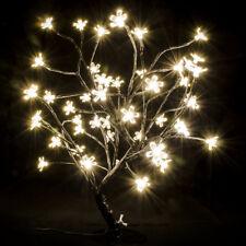 LED Baum 48 Lampen Beleuchtung warmweiß Äste schwarz Lampe Stimmungsleuchte