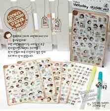 #08 Cooky's Helloday Cute Girl PVC Stickers Deco 5 sheets