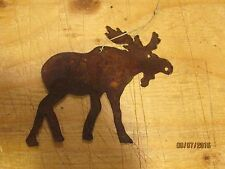 Western Rustic Moose Christmas Tree Ornament Holiday Home Decor Country