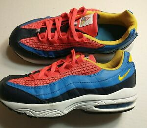 Nike Air Max 95 Spider Man Shoes Sneakers CI5644 Boys youth Size size 3Y