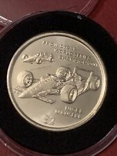 More details for 1994 isle of man nigel mansell f1 two pounds £2 coin bunc from original set