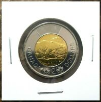 Canada 2012 New Generation With Security Features Toonie BU UNC From Mint Roll!!