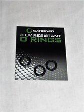 Gardner UV Resistant O Rings Pack of 3 - Buzzers, Rod Rests, Cameras - Carp