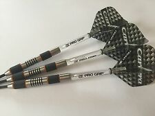 24g Vampire 90% Tungsten Darts Set,Target Clear Pro Grip Stems & Carrera Flights