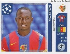 N°189 JACQUES ZOUA # CAMEROON FC.BASEL STICKER CHAMPIONS LEAGUE 2012