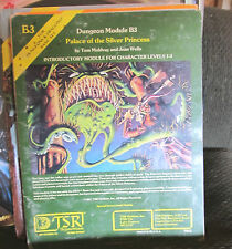 B3 Palace of the Silver Princess Dungeons & Dragons module TSR 9044 1981 basic!!