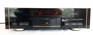 Pioneer Elite PD65 single disc cd player with Stable Platter and Urushi Finish