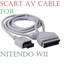 RGB Scart Video HD TV AV Cable Lead For Nintendo Wii