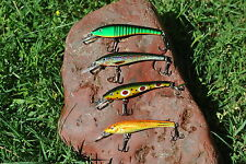 4 x 6 cm TROUT MINNOW FISHING LURE freshwater Muzza's lures