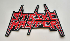 STRIKE MASTER - Backpatch Back Patch/ Violator Merciless Death Transmetal Acidez