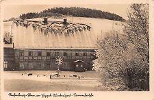 AK Rechenberg Bienenmühle Erzgeb. Erbgerichts Gasthof Wintersport Echt Foto