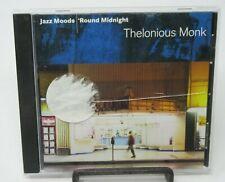 THELONIOUS MONK: JAZZ MOODS - ROUND MIDNIGHT MUSIC CD, 11 TRACKS, LEGACY REC.