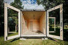 Öko Containerhaus - Mini Haus, Tiny House, Mobilheim, Holzhaus