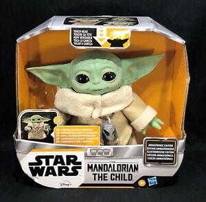 "Hasbro Star Wars The Mandalorian 7"" The Child/ Baby Yoda/ Grogu Animatronic Fig."