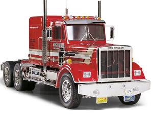 56301 Tamiya King Hauler 1/14th R/C Truck Kit Radio,COMBO