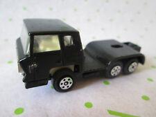 1970 Era Yatming Black Beauty Bernard Cab Rig Tractor Truck 1:100 HK (Mint)