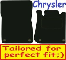 Deluxe Quality Car Mats for Chrysler Crossfire Roadster 04-08 ** Tailored for Pe