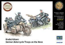 MASTER BOX™ 3548F Kradschützen: German Motorcycle Troops on the Move in 1:35