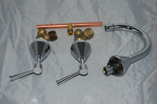 bastow tapware european 5 star wels 6 LPM basin set lever handles and chrome