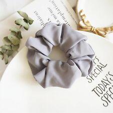 Trendy Lady Hair Scrunchie Ring Elastic Pure Color Bobble Sports Dance Scrunchie