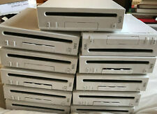 Job Lot Of 11 Working Nintendo Wii Consoles Only Units PAL Bundle