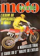 MOTO VERTE 121 YAMAHA XT 600 TT Ténéré TY 250 BETA FANTIC Gaston RAHIER ATLAS 84