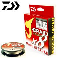 Daiwa 8 Strand Casting Round Braid Line J-Braid Grand X8 135M/150Yd Gray-Light