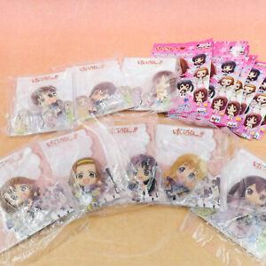 K-ON! Mascot Relief Magnet 8Set Yui Ritsu Mio Tsumugi Azusa Ui Nodoka Sawako