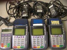 Verifone Omni 3750 Card Reader & Terminal Lot Of 3