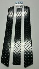 YAMAHA GOLF CART BLACK DIAMOND PLATE ROCKERS G14 G16 G22  Rocker panels and kick
