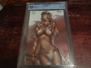 Red Agent The Human Order #6 Zenbox Exclusive Variant CBCS 9.6 1/350 Paul Green