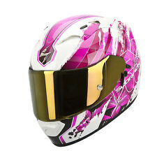 CASCO SCORPION EXO 1200 AIR LILIUM ROSA  ++TALLA M++